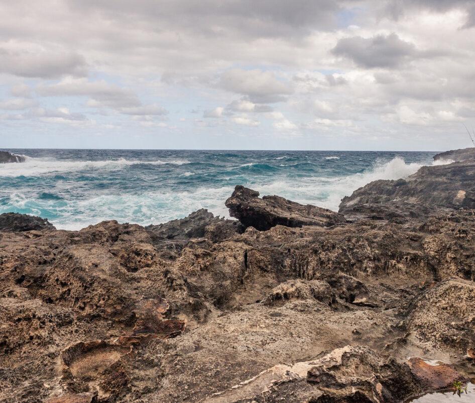 Stone and beach